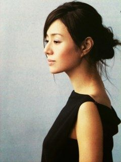 Haruka Igawa. sophisticated style