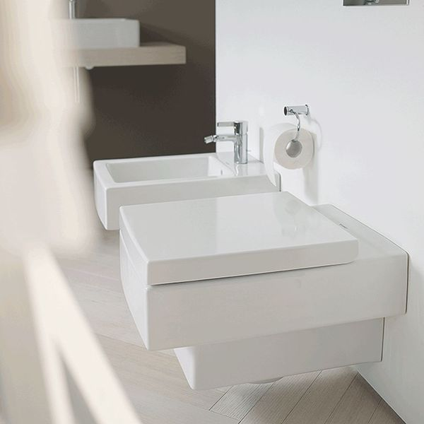 Duravit Vero Wall-Mounted Pan | Wall-Mounted Toilets | CP Hart