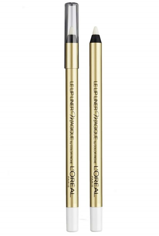 To L'Oreal Paris Le Lip Liner Magique by Color Riche είναι το μολύβι χειλιών, που θα διατηρήσει το κραγιόν σας σταθερό στη θέση του! Με διάφανο χρώμα, είναι σχεδιασμένο για να προστατεύσει το κραγιόν σας από το να μετακινηθεί, ακόμη κι αν φάτε ή πιείτε! Μπορεί να χρησιμοποιηθεί ως βάση