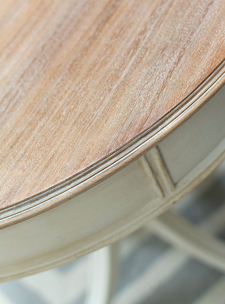 Drum Table Makeover Part 2  Liming Wax. 97 best White Wax Furniture images on Pinterest   Chalk painting