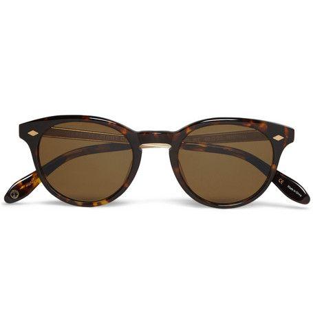 Garrett Leight California Optical Ashland Round-Frame Polarised Sunglasses | MR PORTER