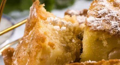 Περιβόλι της Παναγιάς: Νηστίσιμο κέικ μήλου στο μπλέντερ