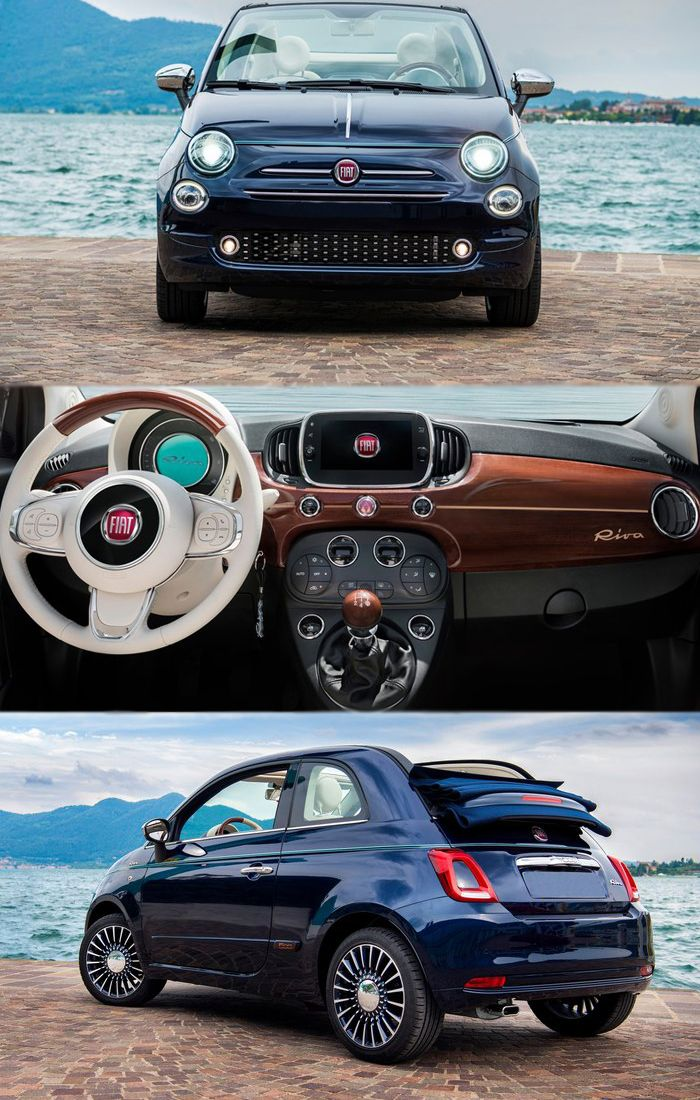 New Fiat 500 Riva Comes as Smallest Yacht For more info visit the blog: http://www.replacementengines.co.uk/car-md.asp?part=reconditioned-fiat-500-engine&mo_id=996