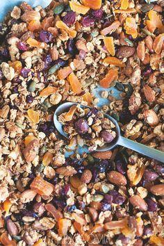 Domowa granola » Jadłonomia