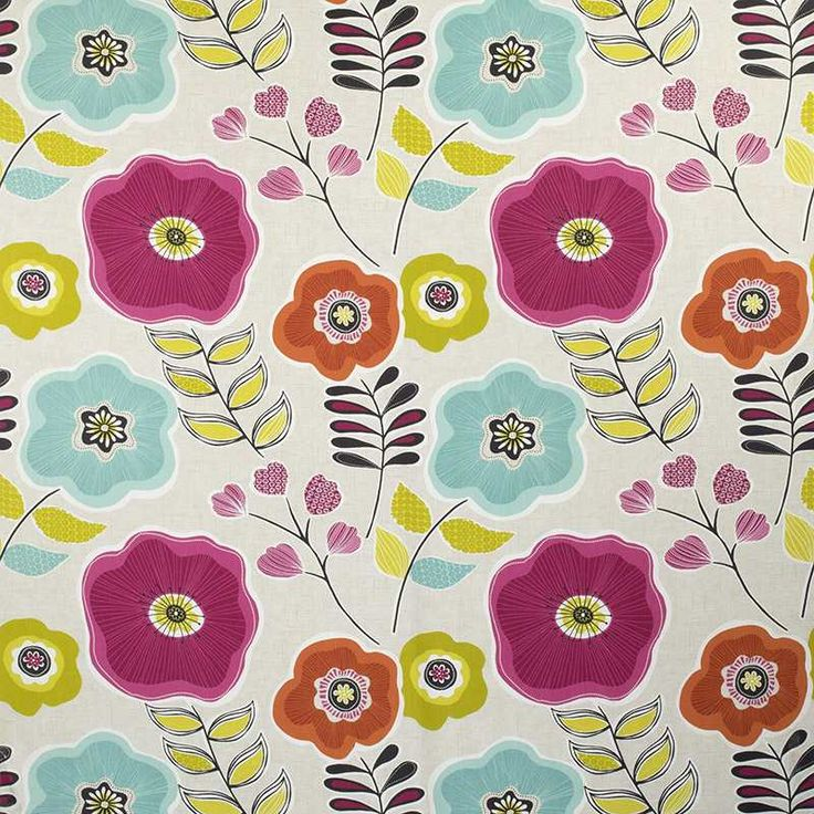 Warwick Fabrics : HAWAII, Colour SUMMER
