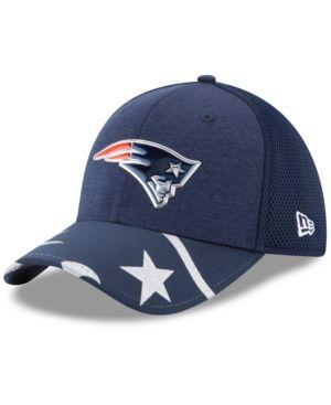New Era New England Patriots 2017 Draft 39THIRTY Cap - Navy/Silver L/XL