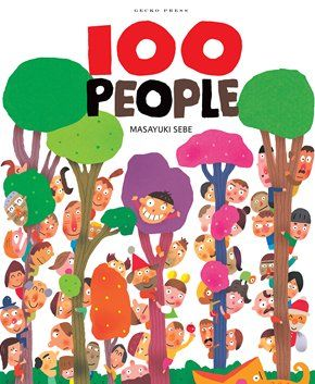 100 People - Masayuki Sebe - Gecko Press - Gecko Press