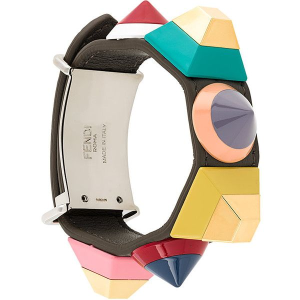 3afb2c2d0657 Fendi Rainbow bracelet (7.593.525 IDR) ❤ liked on Polyvore featuring  jewelry