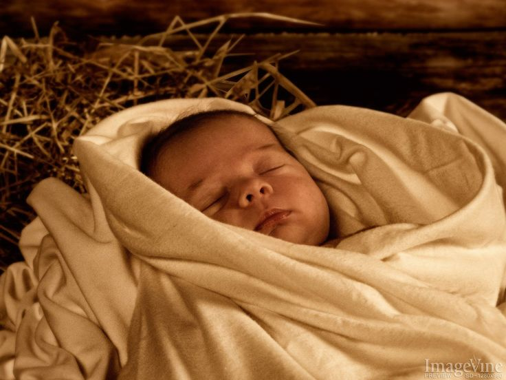nativity backgrounds jesus wrapped in cloths