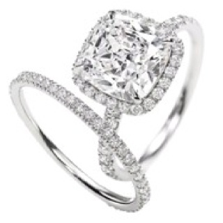 Dream ringIdeas, Wedding Ring, Cushions Cut, Harry Winston, Diamonds, Wedding Band, Dreams Rings, Cushion Cut, Engagement Rings