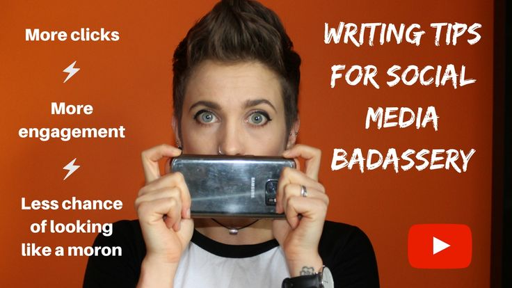 Become a #socialmedia posting badass with these simple #writingtips for accurancy, engagement and personal branding.
