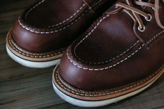 Sapato Red Wing Oxford 8109 Marrom