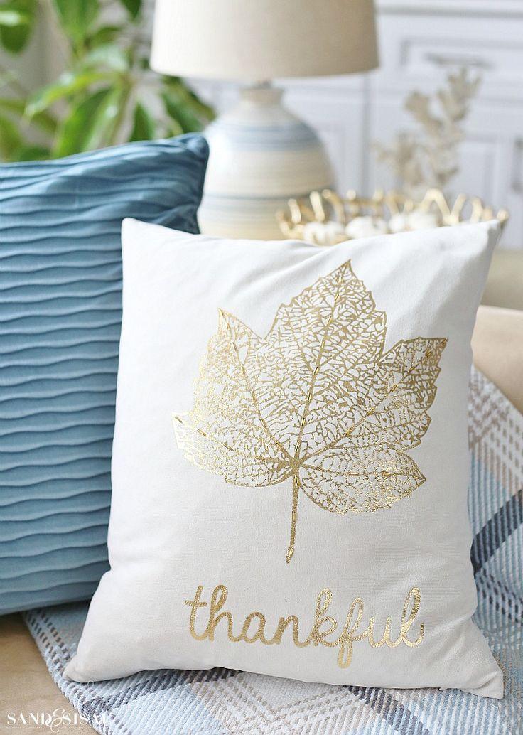 Gilded Leaf - Fall Pillows