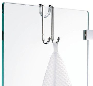 Harmony Hang Up Hook for Shower Cabins in Chrome - contemporary - towel bars and hooks - Modo Bath