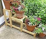Tiered Plant Stand - NewWoodworker.com LLC