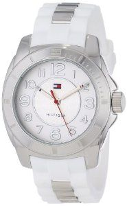 Tommy Hilfiger Women's 1781306 Casual Sport Stainless Steel Case and Links with Silicone Strap Watch: Christmas Gifts