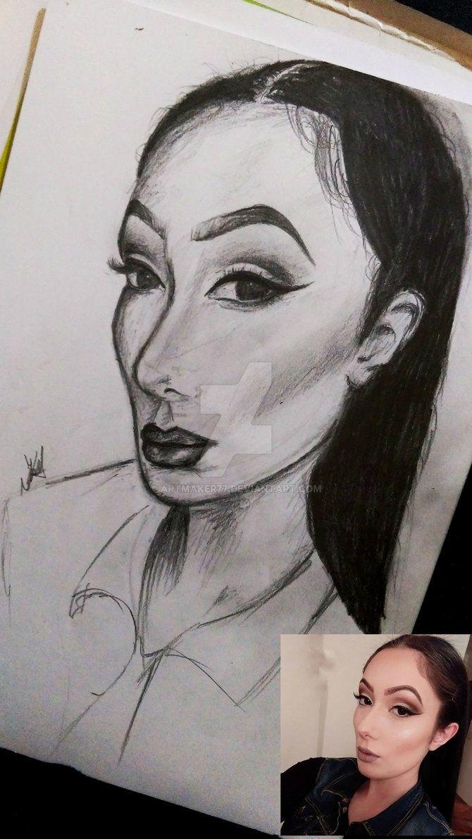 Portrait of my friend by artmaker77.deviantart.com on @DeviantArt