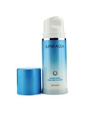 Missha Face Care Super Aqua Oxygen Micro Visible Deep Cleanser  Кислородная пенка для очищения кожи