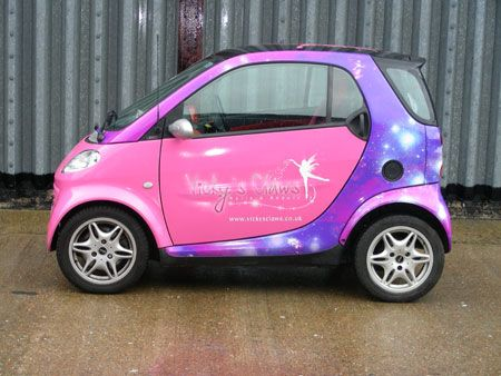 Smart Car Wrap Holy True Story Cars Fortwo
