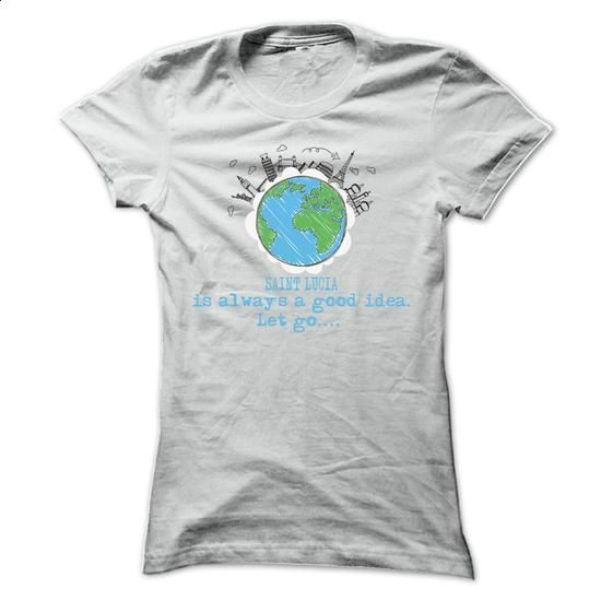 Saint Lucia Is Always ... Cool Shirt !!! - #tshirt #fashion. PURCHASE NOW => https://www.sunfrog.com/LifeStyle/Saint-Lucia-Is-Always-Cool-Shirt-.html?60505