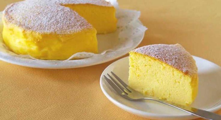 La torta giapponese tre ingredienti che impazza nel web deve il suo successo alla sua semplicità di ingredienti e preparazione.