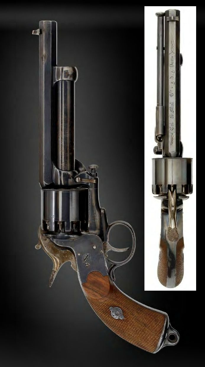 A spectacular second model LeMat percussion revolver