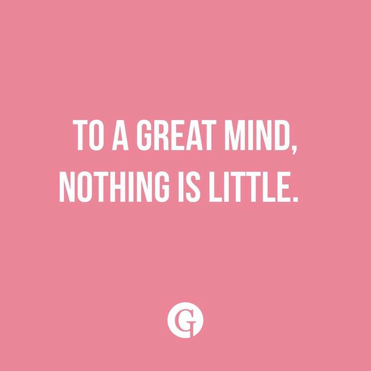 Nothing is to little. #glips #glipstick #quote #greatminds