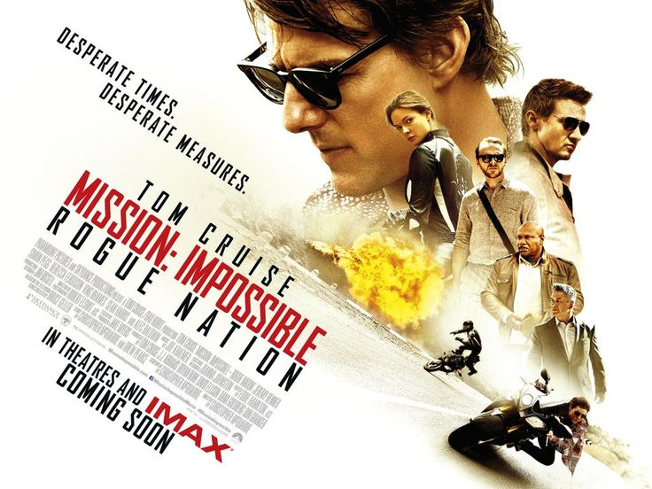 Critique Ciné : MISSION : IMPOSSIBLE - ROGUE NATION de Christopher McQuarrie