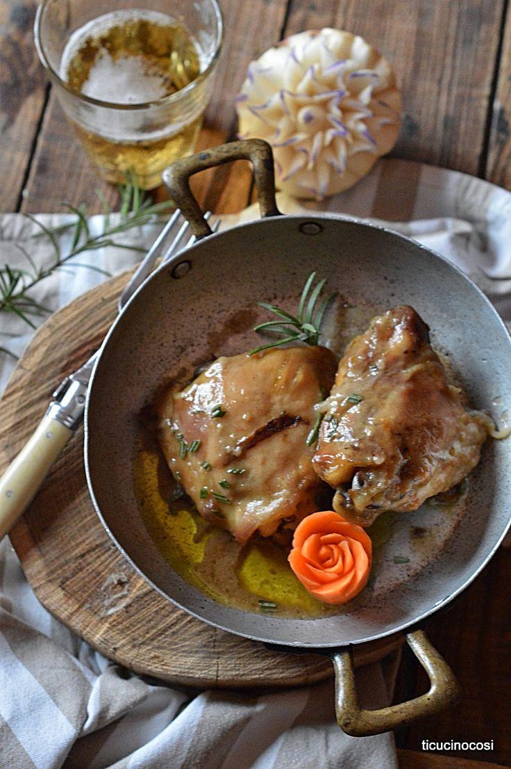 Birra? Si in casa ci piace berla ma ci piace anche usarla come ingrediente base di molte preparazioni come in questa ricetta dove aiut...