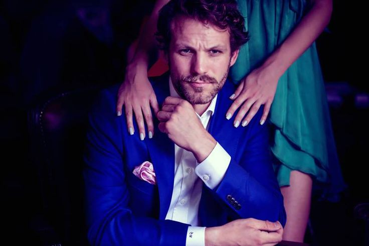 Return of the Gentleman. A Gabriel Bespoke Lookbook story. July 2013! On the cover, Electric Monaco Blue Suit by Gabriel Bespoke. Model Robb Marshall.
