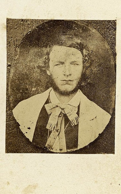 Ben Hall, 1863 / [carte de visite copy photograph] Freeman Brothers, Sydney by State Library of New South Wales collection, via Flickr