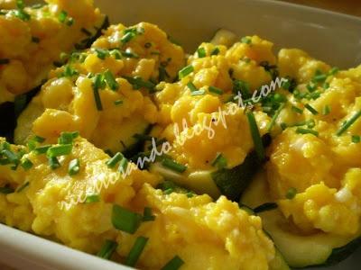 zucchine ripiene con uova
