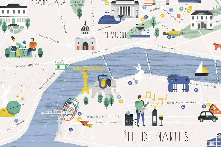 Nantes, City Guide by Julie Flamingo