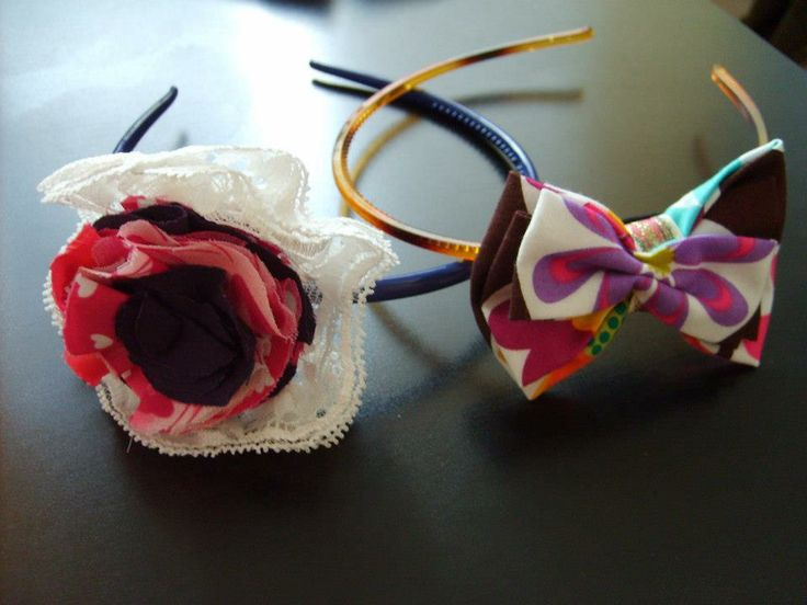 Everyday is summer with these colorful hair accesories! contact: artaduran@gmail.com