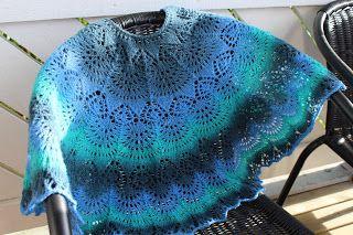 Freya shawl