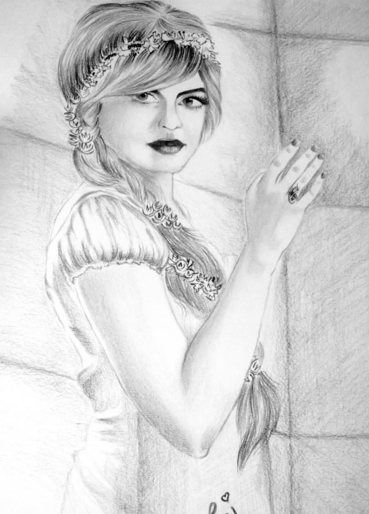 Angelic LooK:) - Sketching by rashi sagar in  SKETCHES by Me:) at touchtalent 67114