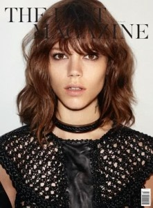 short hair: Magazine, Hair Ideas, Haircuts, Freja Beha Erichsen, Medium Length, Frejabehaerichsen, Hair Cut, Hair Style, Hair Inspiration