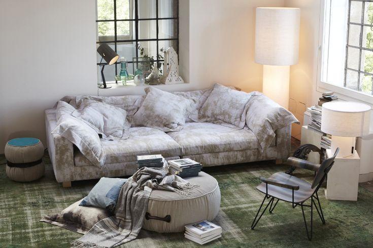 DIESEL with Moroso Nebula Nine sofa