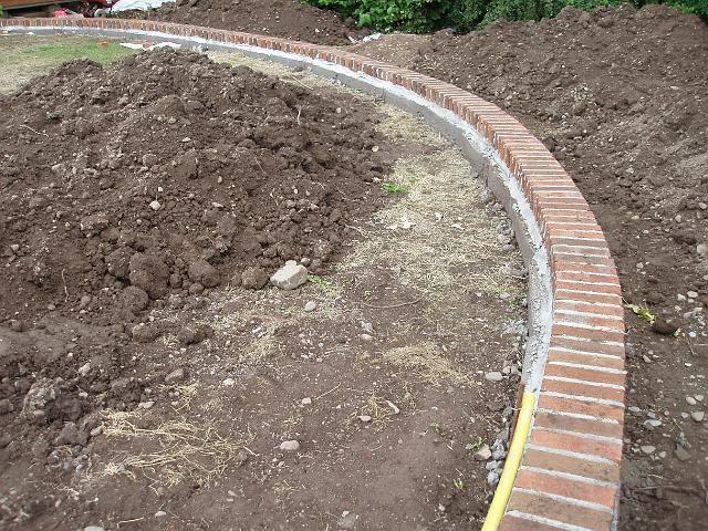 Brick Edging Exteriors Pinterest Bricks Brick Edging And Lawn