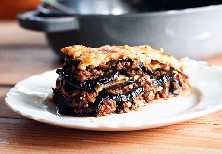 #Moussaka de carne picada de #ternera que viene gratinada y que está más que deliciosa. Es muy sencilla de preparar. #entullinea #adelgazar #ComiendoDeTodo sin #dietas sin pasar hambre con #salud y #feliz
