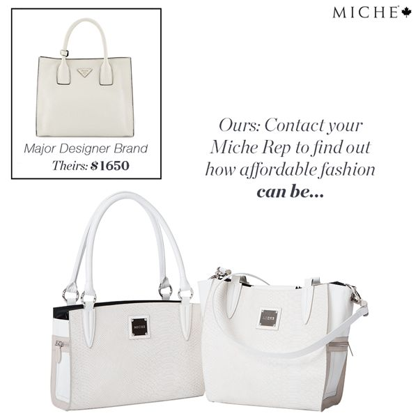 Miche Measure - Carry the look without the price tag!