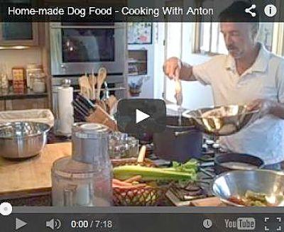 Preparing homemade #dog food is easy, watch the video: http://www.bestdogfoodd.com/homemade-dog-food/