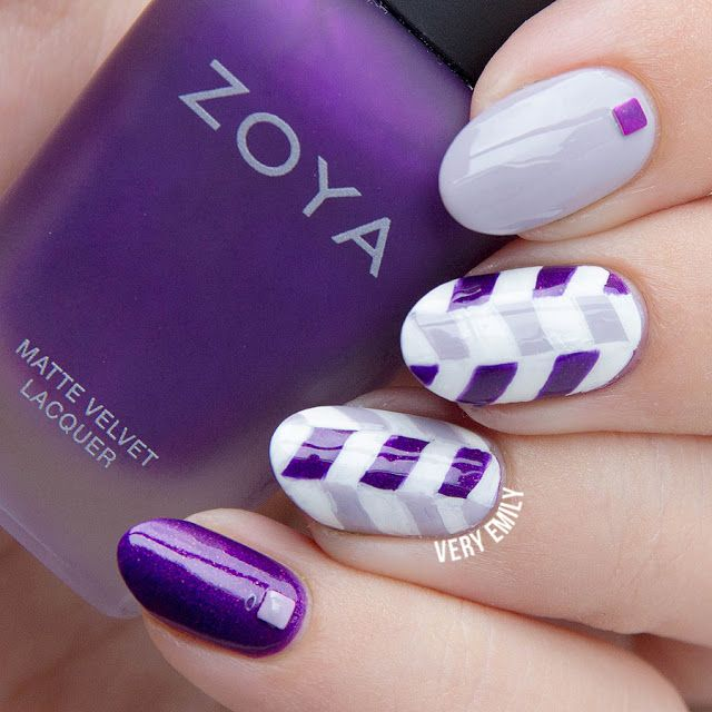 Stunning Purple Nails!