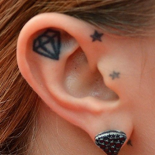 cara-delevingne-ear-tattoo