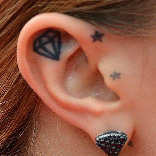 cara-delevingne-ear-tattoo
