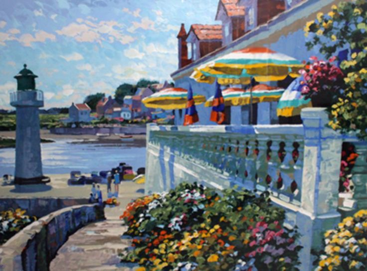 Lighthouse At Sansone AP by Howard Behrens