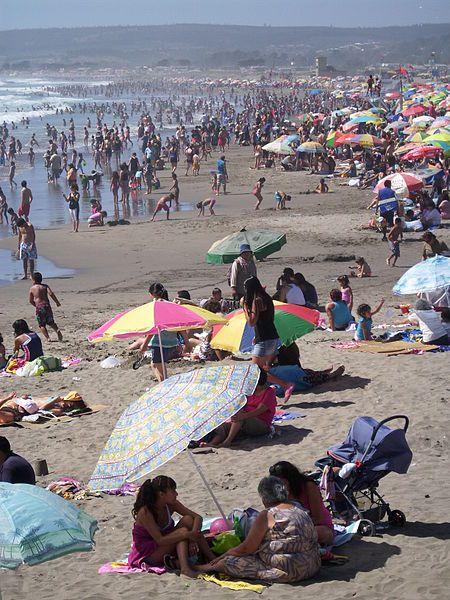 Playa Grande de Cartagena, Cartagena, Chile