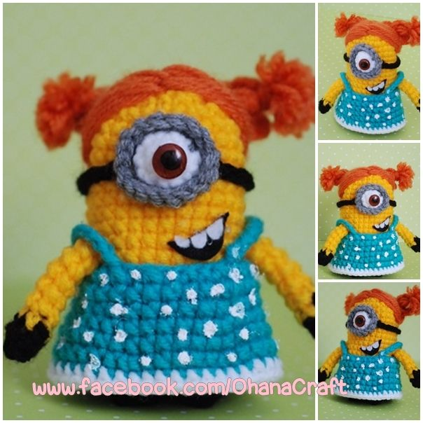 Free Crochet Patterns For Minion Toys : 17 Best images about amigus famosos on Pinterest Free ...