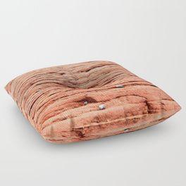 Life in the Cracks Floor Pillow