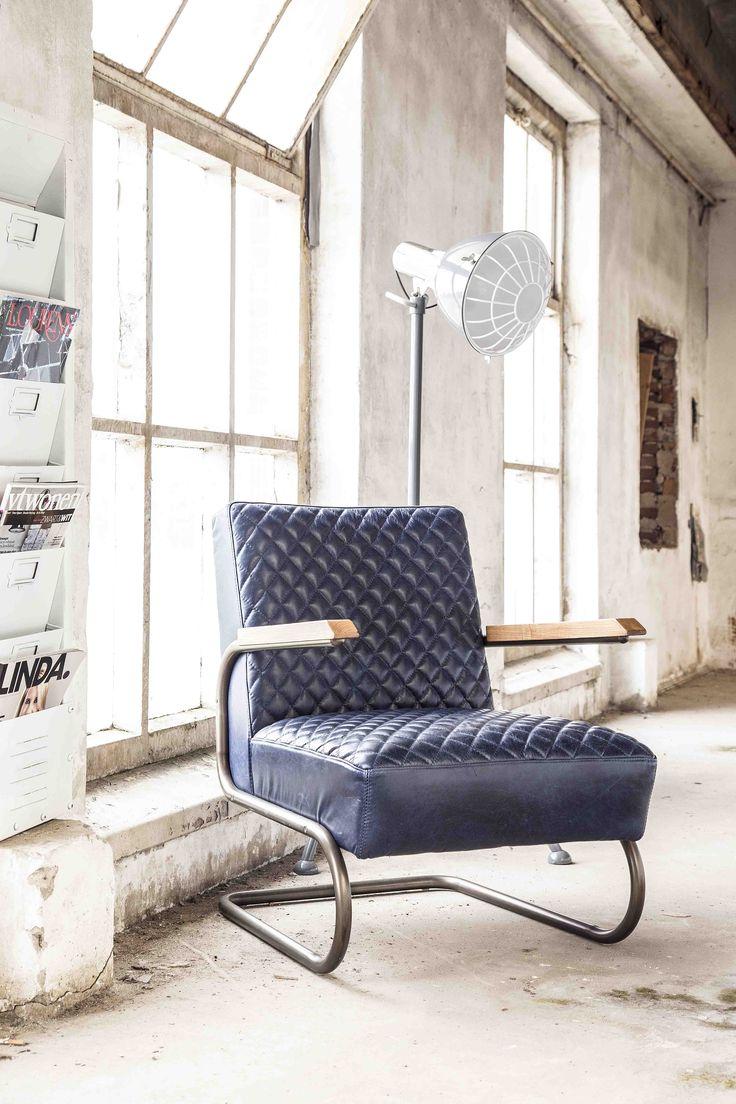 Dryer lamp Industrial - dark grey | Magazine holder - white